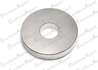 "China Strong Rare Earth Ring Magnets 7/8"" od x 1/4"" id x 1/4"" thick Axially Magnetized NiCuNi Coated supplier"