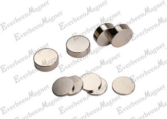 China Sintered N45  Disc Rare Earth Permanent Neodymium Disc Magnets Round supplier