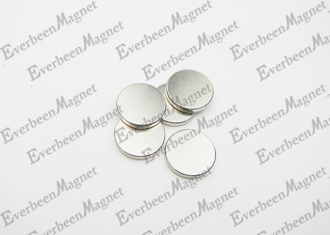 Rare earth Disc / Round Ndfeb Magnet D12x3mm Nickel Plated for Motors
