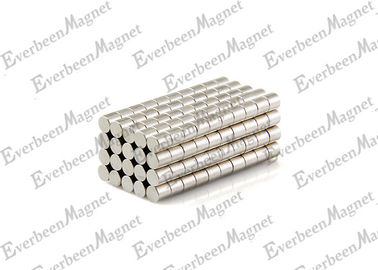 China 1/8 Dia * 1/4 Inch Small Cylinder Neodymium Magnet For Fridge Holders distributor